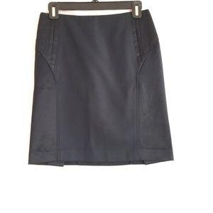 bebe Size 4 Black Pencil Straight Skirt